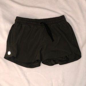 Dark Green Running Shorts